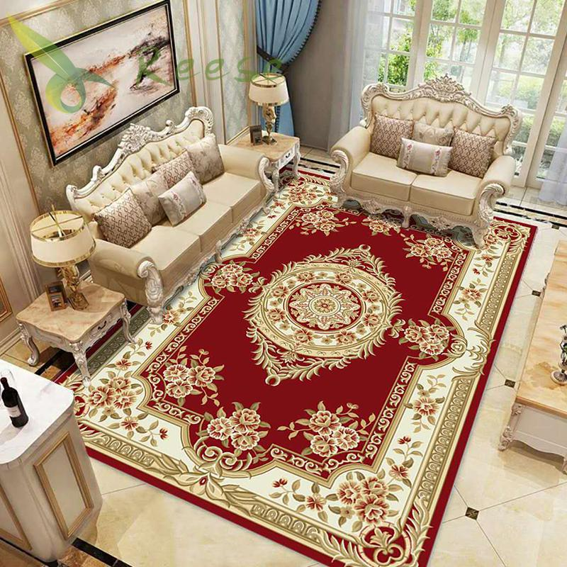 Alibaba Hot Sale Modern Soft Persian Carpet Rug For Living Room Non slip Antifouling Carpet Bedroom Parlor Factory Direct Supply in Carpet from Home Garden