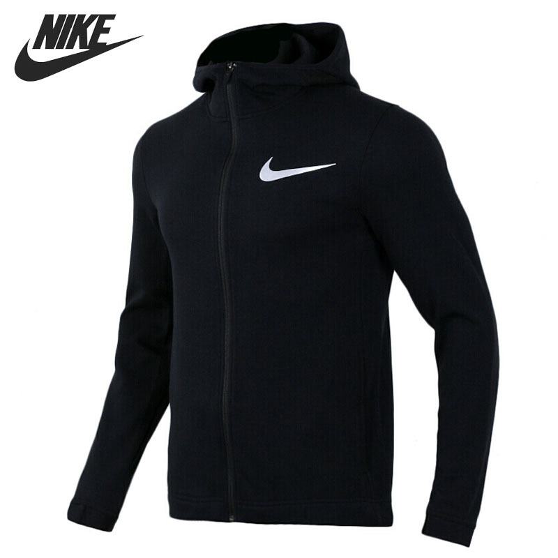 Original New Arrival 2018 NIKE DRY SHOWTIME HOODIE FZ Men's Jacket Hooded Sportswear original nike men s black knitted jacket hooded sportswear