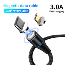 Magnetic Charging Cable Micro USB Type C 3A Fast Charging USB-C Type-C Magnet Charger Phone Data Cable for Samsung Xiaomi Huawei цены