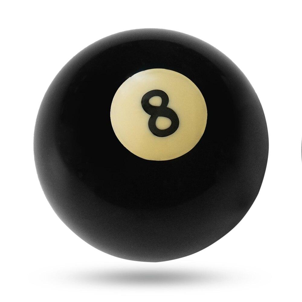 1 шт. бильярдный шар s бассейн Кий шар восемь бильярдный шар черное бильярдное оборудование бильярдный стол Замена обучения 57,2 мм/52,5 мм - Цвет: 57.2mm