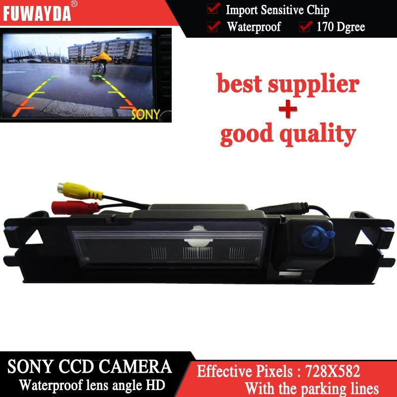 FUWAYDA Factory selling Brede HD SONYCCD Nachtzicht Auto Reverse Camera Achteruitrijcamera Parkeren Sensor 12 V voor Toyota Yaris 2006 2012|Camera voor een voertuig|Auto´s & Motoren -