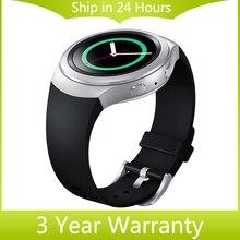 Силиконовая Резина Смотреть Ремешок Ремешок Замена Smartwatch Полосы Браслет Ссылка для Samsung Galaxy Gear S2 SM-R720 Черный Синий Красный