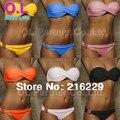 Comercio al por mayor Más Nuevas Summer Sexy Bikini trajes de Baño Occidental Secret Beach Swimsuit 10 Colores Sml # OL054