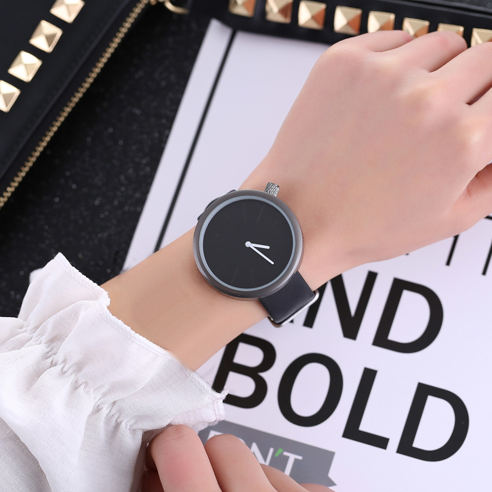 2018 Cute Owl Women Fashion Leather Band Analog Quartz Round Wrist Watch Watches silicone watches women Bracelet Watch Ladies cute cat pattern women fashion watch 2017 leather band analog quartz round wrist watch ladies clock dress watches relogio time