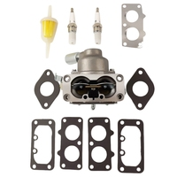 Carburetor For Briggs And Stratton 791230 699709 699804 20Hp 21Hp 23Hp 24Hp 25Hp Intek V Twin|Carburetors| |  -