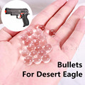 Crystal BULLET ONLY For Desert Eagle airsoft Gun Air Gun Bibulous Bullet Electric Gun 10000 Pieces 7-8MM