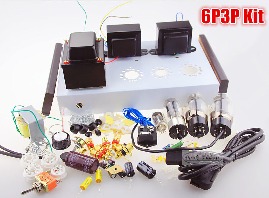 Tube Amplifier DIY Kit Douk audio 5Z4P+6N1+6P3P HIFI ...