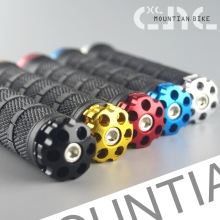 HOT Cycling Lockable Handle Grip For Bicycle MTB Road Bike Handlebar BicycleGrip Aluminum Alloy + Rubber 7 Colors