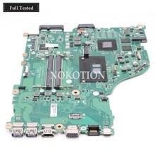 NOKOTION NBGG711005 For Acer Aspire E5-575 E5-575G Laptop Motherboard DAZAAMB16E0 SR2ZU I5-7200U CPU GeForce 940MX graphics