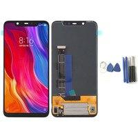 Для Xiaomi Mi 8 замена сборка ЖКД с сенсорным экраном мобильного телефона ЖК дисплей Экран Панель для Xiaomi Mi 8 с инструментом