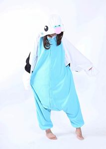 Image 5 - Erwachsene Unisex Fleece Tier Papagei Onesies Neuheit Pyjamas Pyjamas Nachtwäsche Overall Karneval Kostüme Kigurumi