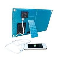 Outdoor Zonnepaneel USB Lader Batterij Bank Folding Zonne-energie Opladen tas Voor Gsm iPhone 4 s 5 5 S 5C iPad iPod Samsung