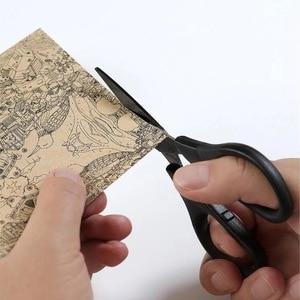 Image 3 - Huohou Titanium plated Scissors Black Sets Paper Cutting Scissor Sewing Thread Antirust Pruning Scissor Leaves Trimmer Tools Kit