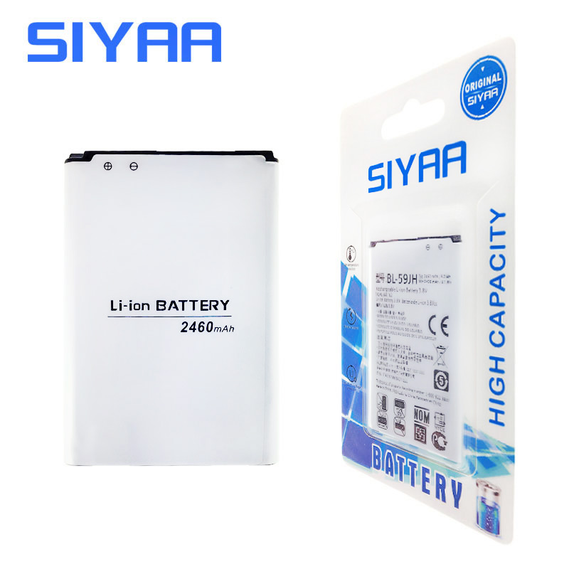 Original SIYAA BL-59JH Battery For LG Optimus L7 II Dual P715 F5 F3 VS870 Ludid2 P703 BL59JH BL 59JH Replacement Li-ion Battery