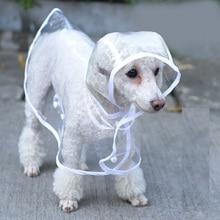 Плащ-светильник для собак; водонепроницаемая одежда для собак; плащ-дождевик; куртка с капюшоном; Chubasquero Perro; плащ-дождевик для собак