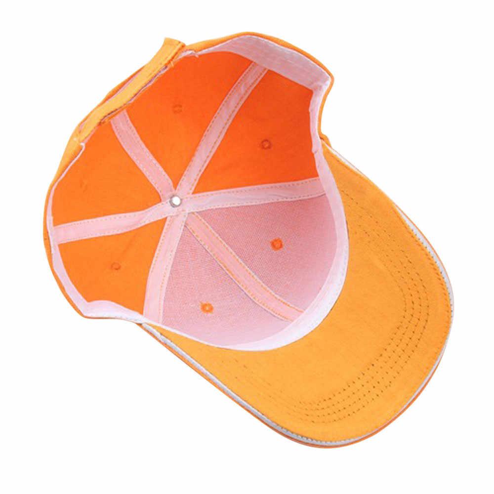 Moda verão Soild Mulheres Homens Snapback do Boné de Beisebol Ajustável Chapéu HipHop Legal Sunhat casquette gorras Menor Preço