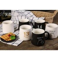 Custom Mugs World Porcelain Ceramics Printed Mugs Couples Love Cup Fashion Cups Simple Coffee Mug Cup Cups DIY Picture Mugs