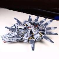 Millennium Falcon Star Wars Model Compatible With Legoed Star Wars Space Ship Marvel 1381pcs Building Blocks