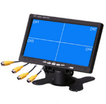 7 Inch 4CH TFT Monitor For CCTV Camera