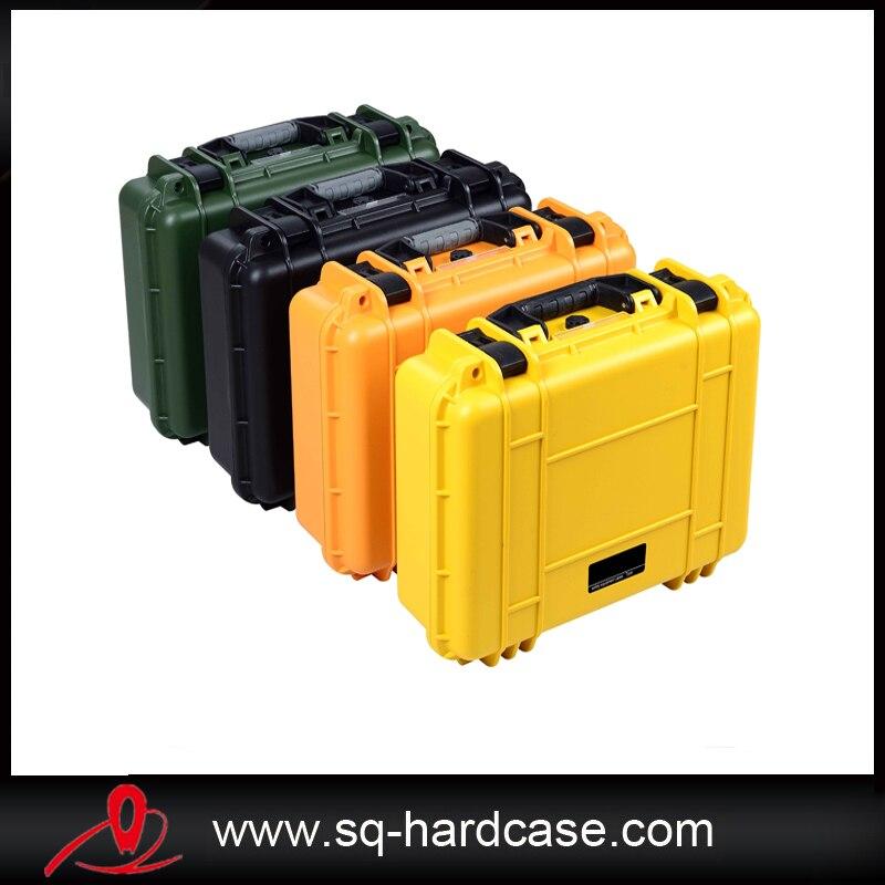 SQ5124 shockproof waterproof plastic flight case included foam sq5124 shockproof plastic transport case without foam
