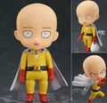 ONE PUNCH MAN Action Figure Nendoroid Saitama Sensei Figures 100mm Nendoroid 575# ONE PUNCH-MAN Saitama Model Toys Anime ONE