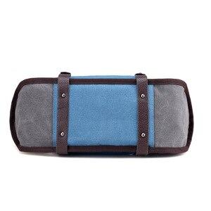 Image 4 - KVKY Women Canvas Bag Handbag Famous Brand Large Capacity Patchwork Tote Bag Hipster Classic Hobos Vintage Shoulder Travel Bag