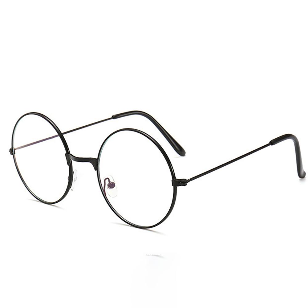 Comfortable Computer Anti Blue Light Glasses-Retro Round Frame Unisex Spectacles