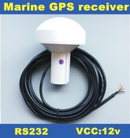 NEW 12V,GPS receiver,RS232,RS 232,boat marine GPS receiver antenna with module,Mushroom shaped case,4800 baud rate,GN2000R