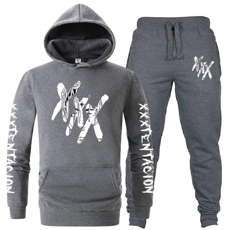 New Autumn Winter Sweatshirt Xxxtentacion Hoodies Hip Hop Fashion Casual Suit Sweatshirt Men Clothes Men's Hoodies Women's Hoode