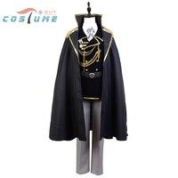 K Return of Kings Isana Yashiro Military Cosplay Costumes For Men Uniform Halloween Costumes