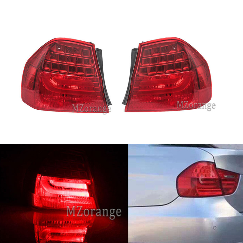 MZORANGE Tail Light for BMW 3 SERIES E90 2008 2009 2010 2011 Rear Lamp LED Light Left / Right Side Free shipping Car Assembly image