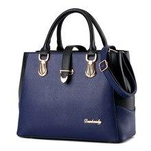 High Quality Women Bag  Ladies hand bag Big Pu Leather Lady Shoulder Womens Tote