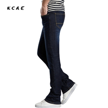Mens flared jeans pants 2015 Korean new arrival blue bell bottom Plus Size male bell bottom jean men 28 29 30 31 32 33 34 36