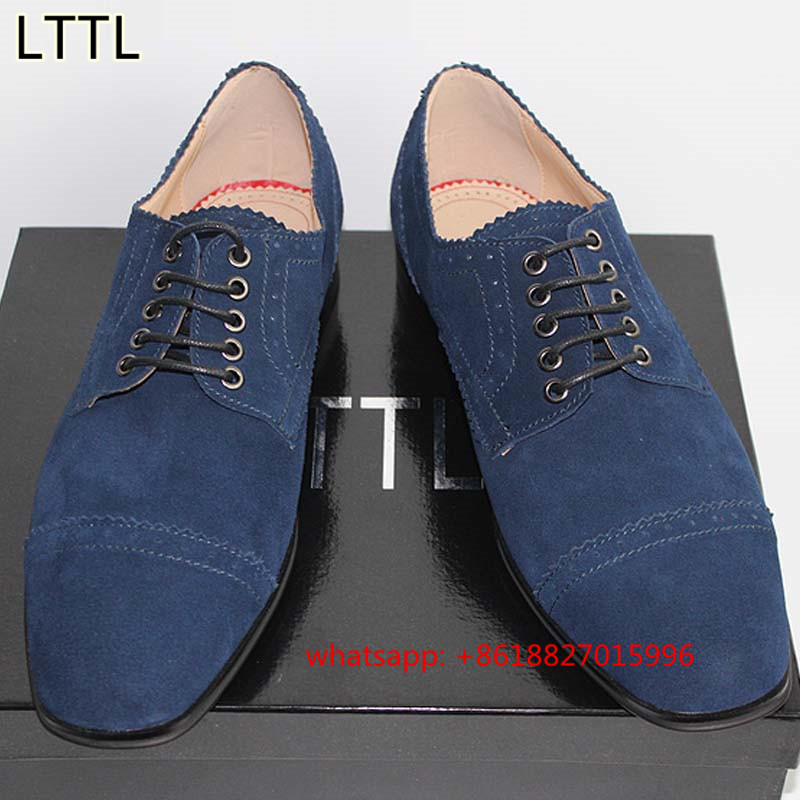 Printemps Angleterre Mode Hommes Chaussures Zap... 17OYIy