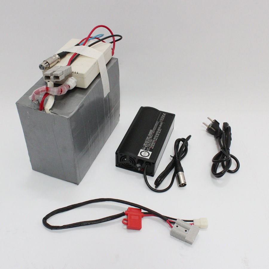 ConhisMotor Electric <font><b>Scooter</b></font> <font><b>24V</b></font> 10AH LiFePO4 Battery with BMS Ebike Battery Electric Bicycle Battery <font><b>5A</b></font> Fast <font><b>Charger</b></font> image