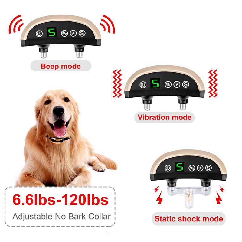 adjustable no bark collar