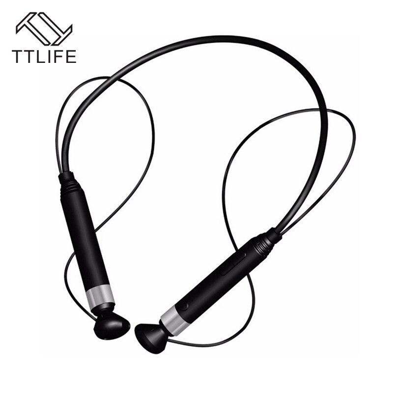 Original TTLIFE Bluetooth 4.1 Stereo Headset Wireless HiFi Headphones Sports Auriculares Earphone NFC Earbuds Magnet Adsorption
