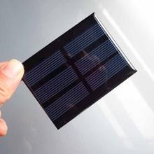 5pc X 1 5V 0 65W 420mA Mini monocrystalline polycrystalline solar generator module panel battery charger