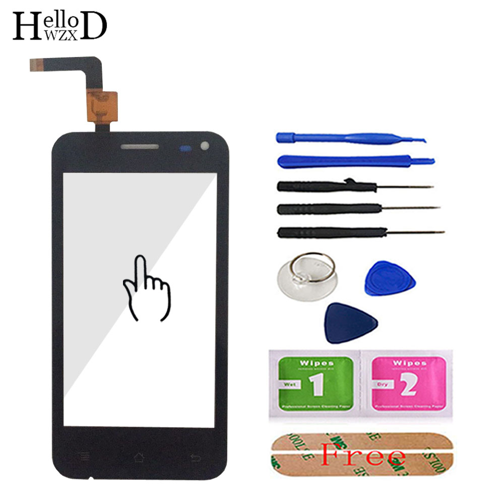 4.0'' Touch Glass For Micromax A79 Version V 2.0 1.0 Touch Screen Glass Digitizer Panel Front Glass Lens Sensor Free Adhesive