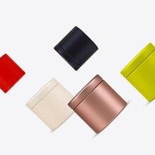 100 шт., 47x45 мм, золотисто-черная мини-коробка для чая, металлическая жестяная коробка для хранения, чехол для конфет, органайзер, коробка, DHL