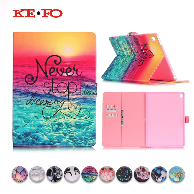 KeFo Case For iPad Pro 9.7 A1673 A1674 A1675 PU Leather For iPad Pro 9.7 Cover Stand Luxury Covers & Cases 2016 Release