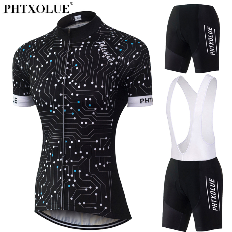 Phtxolue Cycling Set Kit Breathable Quick Dry Mountain Bike Bicycle Jerseys Set Cycling Clothing Women QY0315