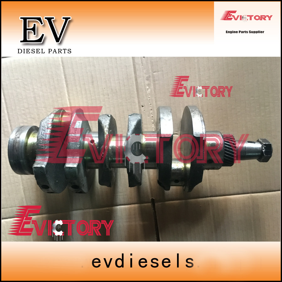 US $700 0 |Genuine steel Shibaura N843 N843L N843LT N843T crankshaft for  New Holland tractor-in Pistons, Rings, Rods & Parts from Automobiles &