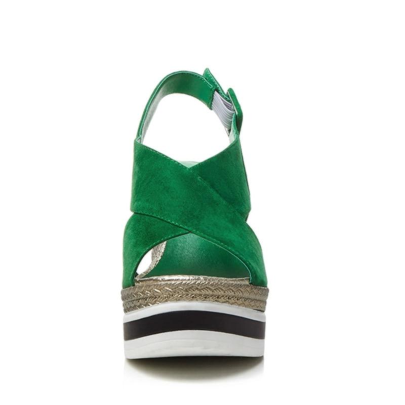 De Metal Talones Verano Negro Peep Alto Suede Toe Moda A Paja Cuadrado Hebilla Sandalias Hecho Zapatos verde L67 Ovejas Super Mano Impermeables 2018 wT1aq0Ya