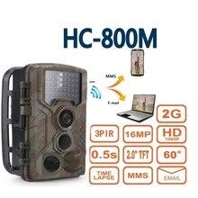 Тепловая охотничья камера MMS SMS Беспроводная HC800M постовой-разведчик Дикая камера для наружной охоты Дикая цифровая ловушка камера