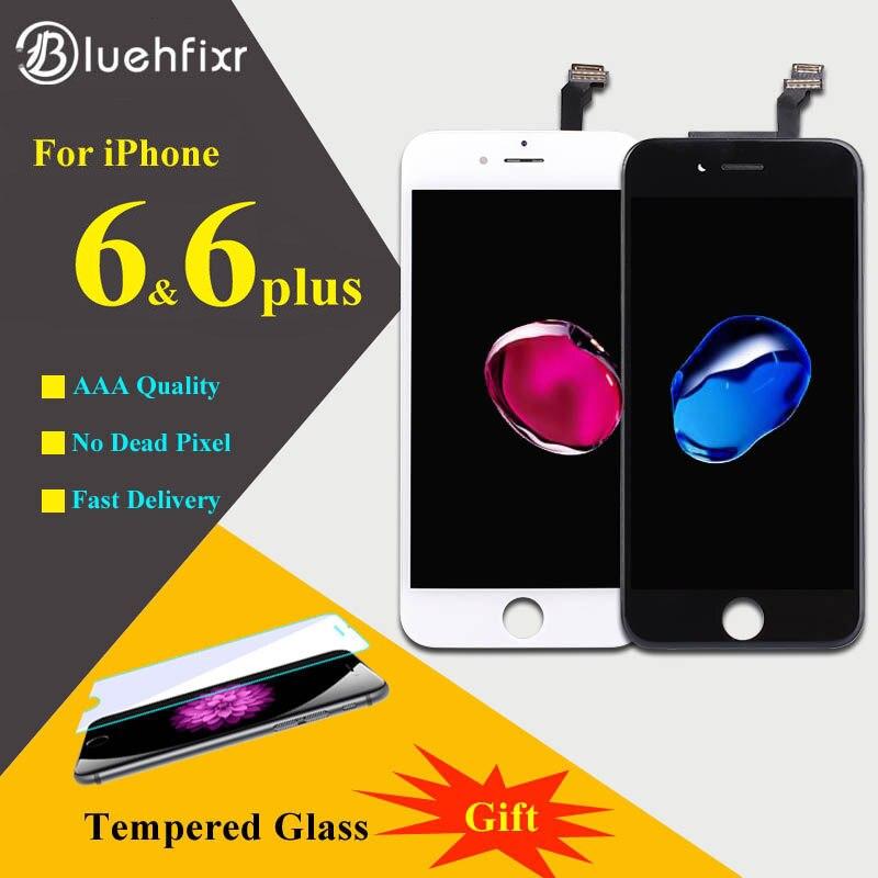 Bluehfixr AAAAA Pour iPhone 6 6 s Plus Écran lcd Tactile écran Digitizer Assemblée Téléphone Pièces De Rechange Pour iPhone 6 s Plus LCD