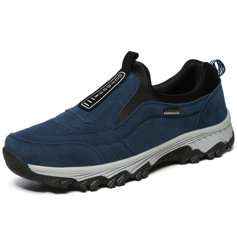 bottes De Troupeau Cheville Chaud En Fourrure D'hiver Hiver Plein Mode Randonnée gray blue Chaussures Bottes Hommes Air Black Casual FKl1J3ucT
