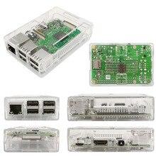 Free shipping! Raspberry Pi 3 B+ Acrylic box  Enclosure -Transparent