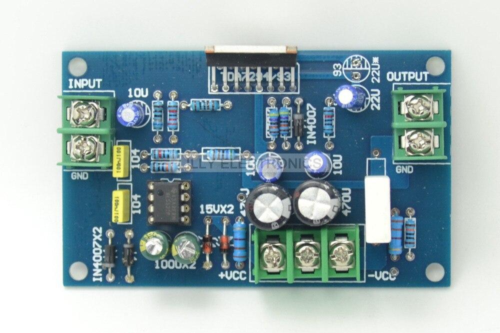 Купить с кэшбэком TDA7294 Bipolar NE5532N 2*100W DC Singe-Channel Servo Constant Current High Power Digital Audio Power Amplifier Board