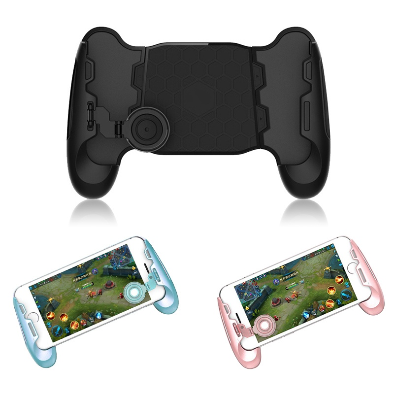 Telescopic Gamepad Gaming Handgrip Gamer Android Joystick Extended Handle Game pad for i ...
